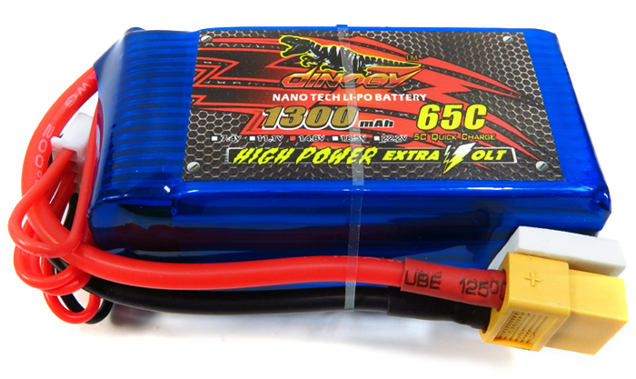LiPo battery 4S (14.8V), 65C (!) 5C Quick Charge (!), for just $16.49 US on DealsMachine (click to image above)